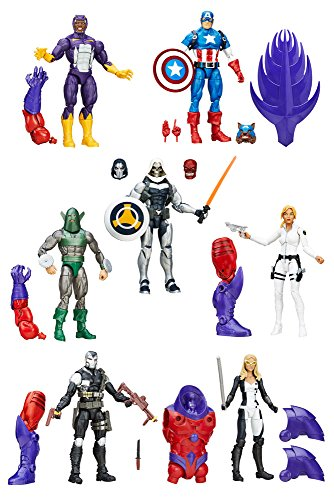 DISNEY MARVEL Comics LEGENDS CAPTAIN AMERICA Actionfiguren - komplette Wave 1 - u.a. mit CAPTAIN AMERICA, TASKMASTER, SHARON CARTER und andere
