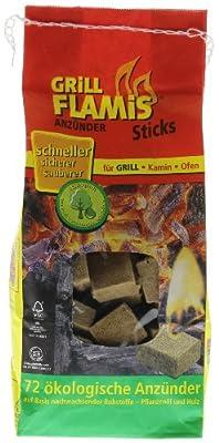 proFagus - Grill Flamis Anzünder-Sticks - 72St