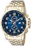 August Steiner AS8153YGBU - Reloj de Cuarzo para Hombres, Color Oro