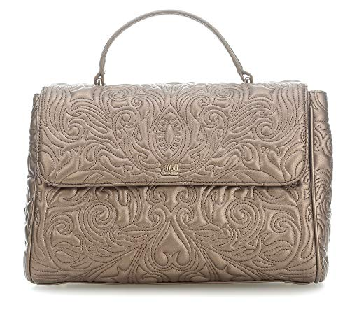 Cavalli Class Medium Handbag Blossom CRC003 Bronze