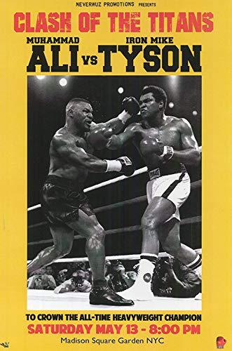 Ali vs. Tyson 'Clash of The Titans' Größe L: 61 x 91,4 cm Toobi Poster