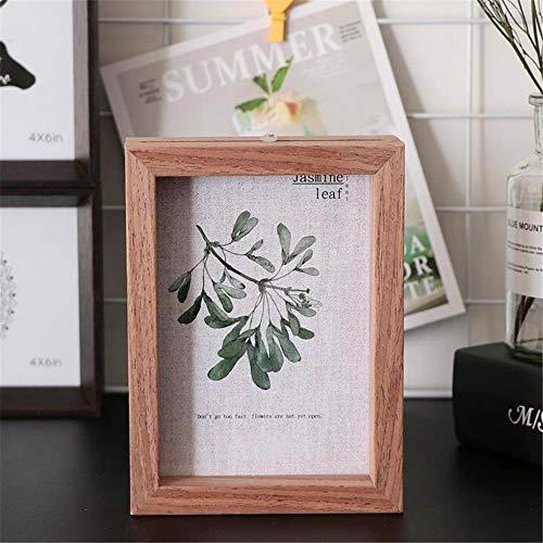 SONGHJ Doppelseitige Traditionelle Bilderrahmen Einfache Mode Bild Wandbehang Rahmen Home Desktop Handwerk Anhänger Hochzeitsdekoration