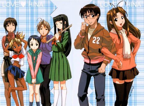 Love Hina (double tome) 9-10