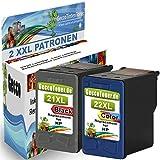 Spetan 2 Druckerpatronen Ersatz für Hp 21 22 21XL 22XL Tintenpatronen für HP Deskjet 3940 D1530 F2280 D2360 D2460 D1460 F2180 F380 F4180 HP Officejet 4315 HP PSC 1410 (1 Schwarz, 1 Farbe)