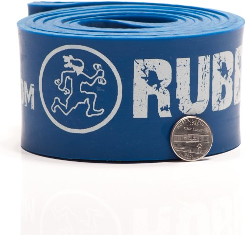 Rubberbanditz Physical Therapy Band. #6 Strong/Blue 60-150 lb (27-68 kg). - 41