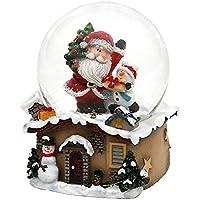 Dekohelden24 Bola de Nieve con Papá Noel, diseño de menú de través ...