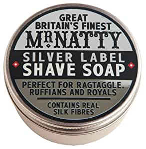 Silver Label Hard Shave Soap 80ml shave soap by Mr. Natty by Mr. Natty