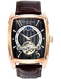 8892f24fad36 George Etherington Farringdon Reloj Analógico de Mecanismo Automático para  Hombre - Caja Rectangular y Correa de