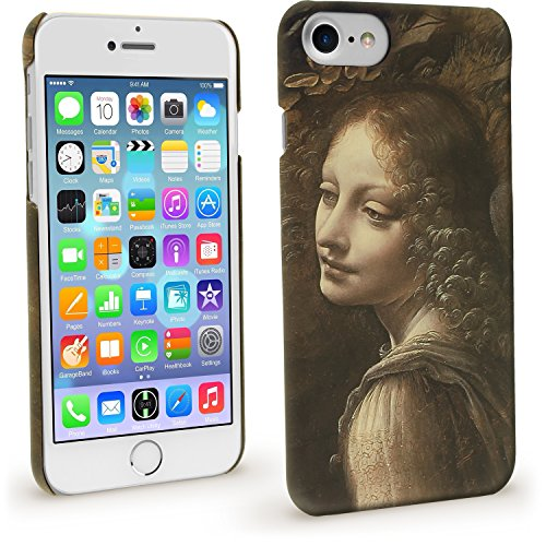igadgitz Stampa Protettiva Rigida PC Custodia per Apple iPhone 7 & 8 4.7 Case Cover - La Vergine delle rocce di Leonardo da Vinci (National Gallery)