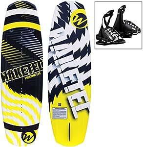 WAKETEC Wakeboard FreeRide 139 cm, Package mit OnSet Bindung, Größe:S-M