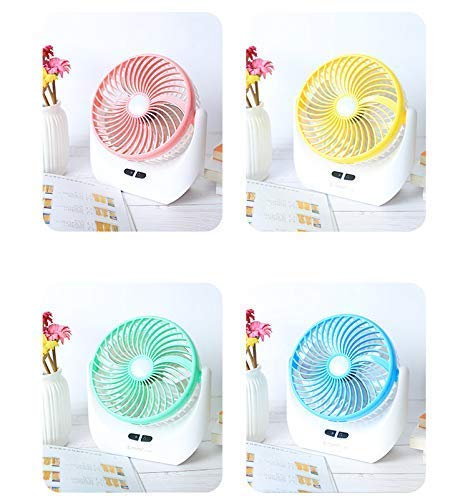Hk Villa Powerful Folding Rechargeable Table Fan with 21SMD LED Lights,  Table Fans For Home, Table Fans, Table Fans For Home With Stand, Table Fans