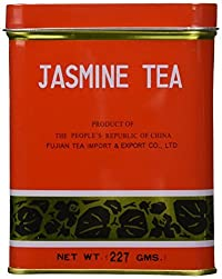 Sunflower Jasmine Tea 0.5LB (227g) Red Tin