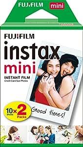 Fujifilm Instax Mini Film 16567828 Pellicola Istantanea per Fotocamere Instax Mini, Formato 46x62 mm, 2 pacchi da 10