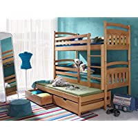 Etagenbett Stockbett Hochbett Doppelbett ALAN 90x200 Kinderbett wohnideebilder preisvergleich bei kinderzimmerdekopreise.eu