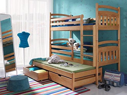 Etagenbett Stockbett Hochbett Doppelbett ALAN 90x200 Kinderbett wohnideebilder
