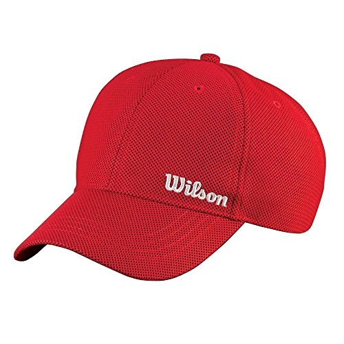 Wilson Summer Cappello, Rosso (Wilson Red), Osfa