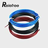 #10: Designeez Spare Rope Replaceable Wire Cable Speed Skipping Rope - Red Blue & Black Steel Wire(3 m)