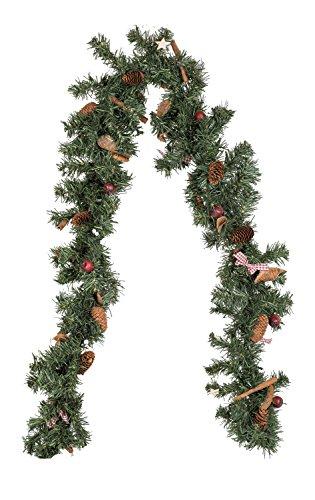 Idena de Navidad guirnalda con 20 LED, longitud 180 cm, funciona con...