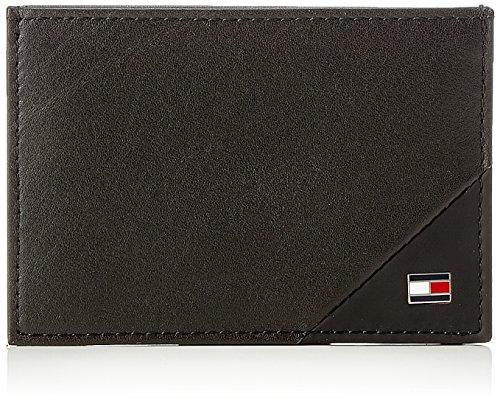 Tommy Hilfiger Th Diagonal Cc Holder, Porte-cartes d'identité (Card Cases) homme, Noir (Black), 7x1x10 cm (B x H T)