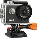 Rollei Actioncam 426 - 4k Actioncam - Incl. Alloggiamento Subacqueo fino a 40 Metri - Incl. Telecomando da Polso ad Alta Frequenza 2.4 G - Nero