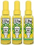 Air Wick Desodorisant Spray V.I.Poo Anti Odeur Parfum Lemon Idol 55 ml - Lot de 3