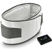 WellCare Kabelloser elektrischer Heizgürtel Wärmegürtel Weiß 125x21 cm 79550.01 preisvergleich bei billige-tabletten.eu