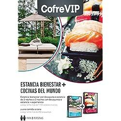 Caja Regalo Estancia Bienestar + Cocinas del Mundo ''CofreVip''