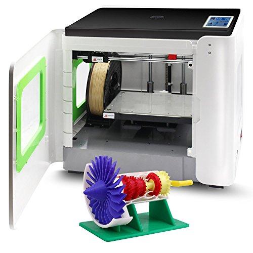 Instone 3D Drucker 3D Printer INVENTOR PRO 3D-Drucker Kit Set mit größerer Druckgröße und 3,5 Zoll Touchscreen PLA ABS 1.75mm Filament -