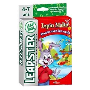 LeapFrog - LEAPSTER - Jeu : Lapin malin - Danse avec les mots (Mindscape)