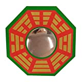 Ratnatraya Feng Shui Chinese Convex Vastu Bagua(Pa Kua) Mirror For Positive(Chi) Energy | Wall/Door Decor For Protection