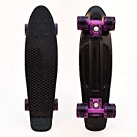"3StyleScooters 3Style® Skateboards - 22"" Retro Mini-Cruiser Skateboard - The Perfect Complete Mini-Cruiser Skateboard 