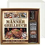 Das ultimative Männer Grillbuch Profi Set's für Männer (Männer Grillbuch mit Jack Daniel's BBQ sauce 22507) Grill Buch
