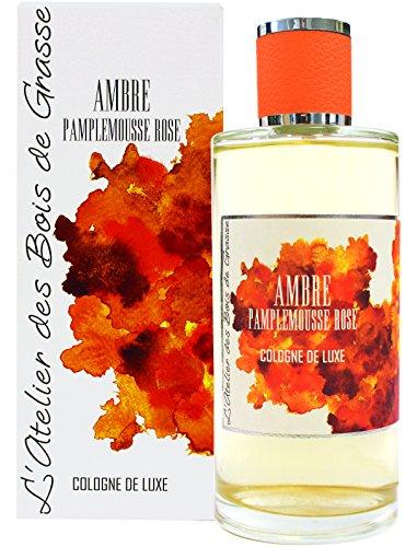 L'Atelier des Bois de Grasse Cologne de Luxe Ambre Pamplemousse Rose 200 ml