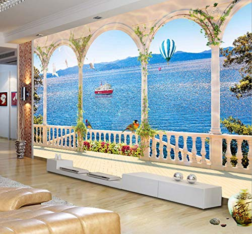 Fototapete 3D 3d stereoscopic visual extension space large mural wallpaper sofa living room TV background wall landscape wallpaper 232X315CM