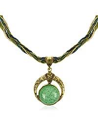 Handmade Antique Retro Sueño Full Moon Collar, Bisutería Vintage