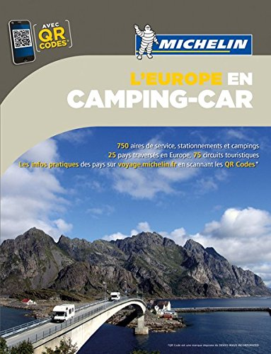 Michelin Camping Car Europe 2015 (Michelin Camping Guides) par Michelin