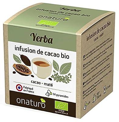 Infusion 100% cacao & Maté Yerba BIO