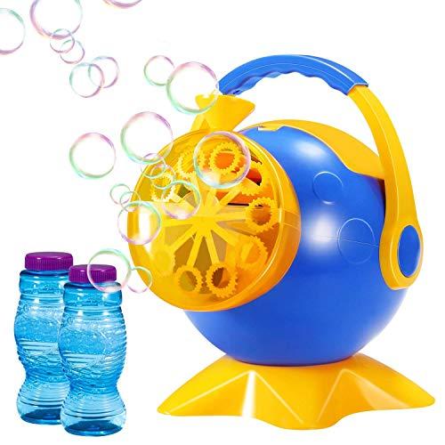 Geekper W07-1358N-22 - Macchina per Bolle di Sapone, per Bambini, per Uso Esterno o Interno