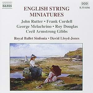Englische Miniaturen für Streichinstrumente