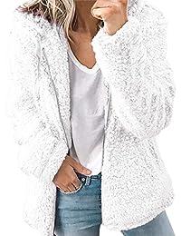 De Ropa es Mujer Abrigo Blanco Amazon wx0gq