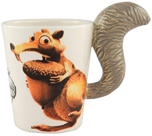 Ice Age 5 Kollision voraus! 3D Scrat Kaffeetasse Lizenzprodukt