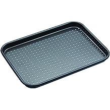 "Kitchen Craft ""Master Class - Crusty Bake"" Baking Tray, Grey, 24 x 18 cm"