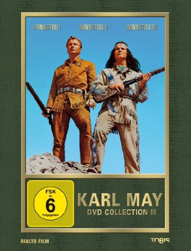 dvd winnetou 1 3 Karl May (Collection III) - 3-DVD Box Set ( Apache Gold / Last of the Renegades / The Desperado Trail ) ( Winnetou 1 / Winnetou 2 / Winnetou 3 ) [ NON-USA FORMAT, PAL, Reg.2 Import - Germany ]
