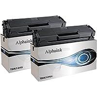 Alphaink AI-KIT2-MLT-D101 Toner compatibile per Samsung AI-MLT-D101S, ML-2160, ML-2161, ML-2162, ML-2165, ML-2165W ML-2168, SCX-3400, SCX-3400F, SCX-3401 SCX-3405, SCX-3405F, SCX-3405FW, SCX-3405W SF760P, SF765P, 1500 copie