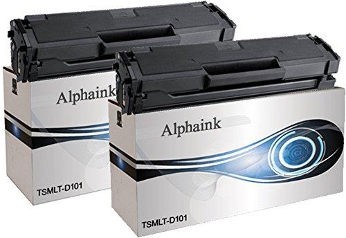 Alphaink AI-KIT2-MLT-D101 Toner compatibile per Samsung ML-2160, ML-2161, ML-2162, ML-2165, ML-2165W, ML-2168, SCX-3400, SCX-3400F, SCX-340, SCX-3405, SCX-3405F, SCX-3405FW, SCX-3405W, SF760P, SF765P, 1500 copie