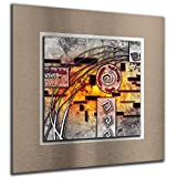 bilder-paradies Wandbild Wandbilder auf Alu-Dibond Bild Bilder Wohnraumaccessoires Wohnraumdekoration Digital Art Abstrakt 6655-1Ba