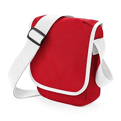 BagBase, Borsa a spalla donna rosso Classic Red / White 23 x 17 x 7cm Classic Red / White