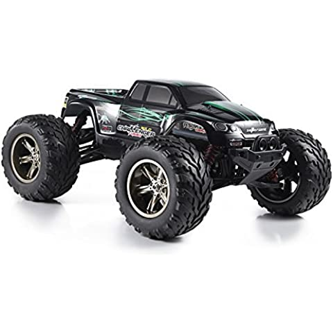 Hosim S911 1/12 2WD 33+MPH High Speed Remote Control Off Road Cars Classic Toys Hobby Green by Hosim