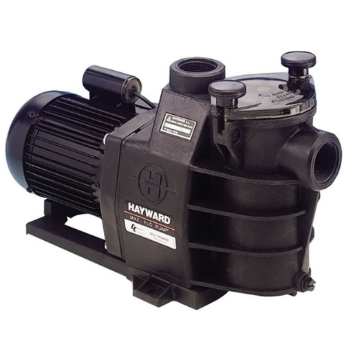 Hayward - sp2808xe111 - Pompe à filtration 0,75 cv, 11m3/h mono max flo