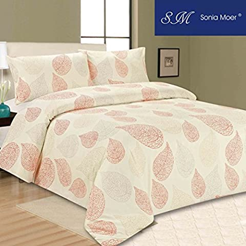Premium Soft Duvet Cover Set by Sonia Moer (Double, Happy Fall)